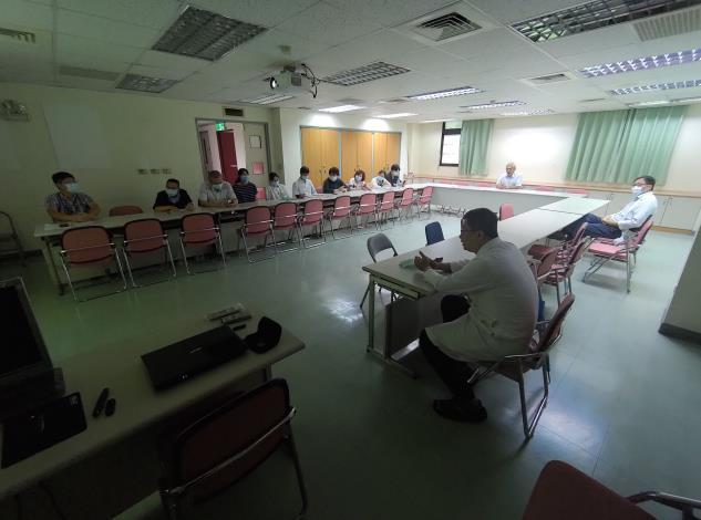 臨床與基礎合作交流會-傳統醫學科 邱主任