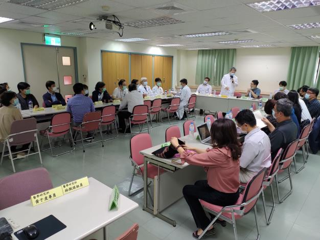 中山大學 x 高雄榮總 研究合作座談會
