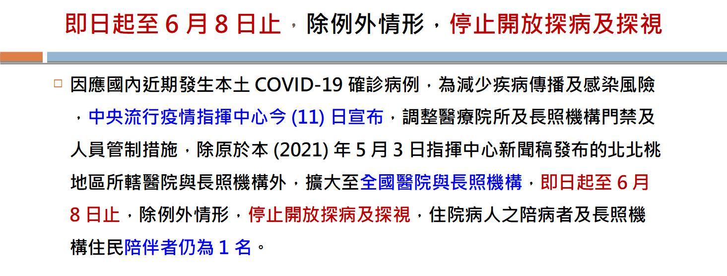 20210511~0608禁止探病(圖片)
