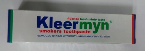 品名:新潔明潔白專用牙膏