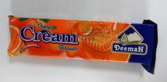 品名:利馬橘子夾心餅乾