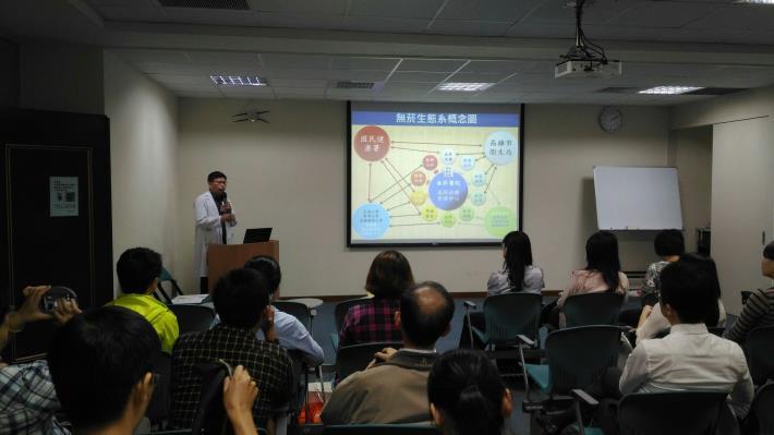台南市衛生局無菸醫院參訪
