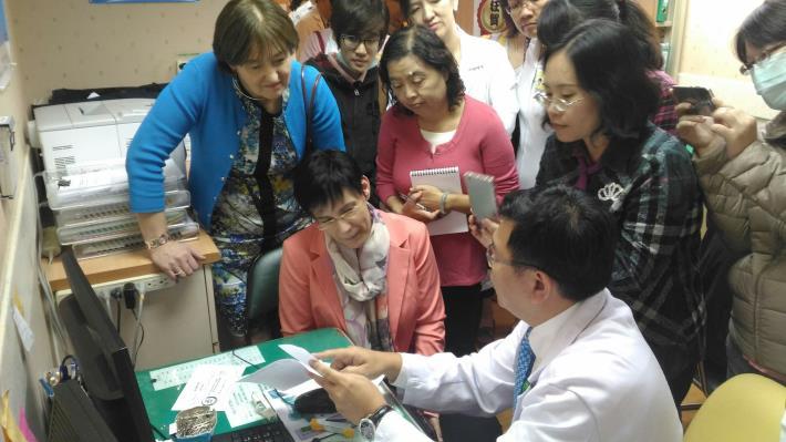 國際專家無菸醫院參訪