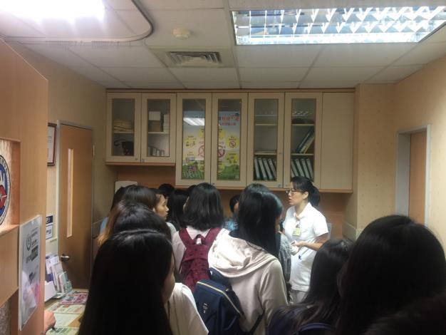 醫管室實習生來院參訪交流