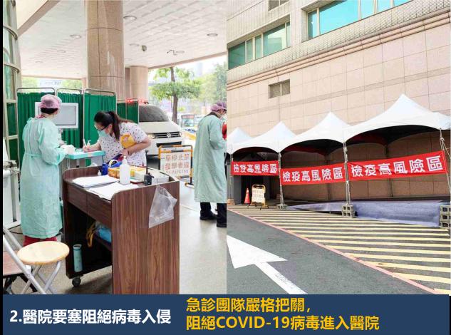 醫院要塞阻絕病毒入侵