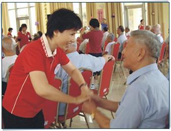 榮民之家懷舊活動、團康活動照片