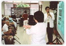 出院病患輔導訪視及衛教服務照片
