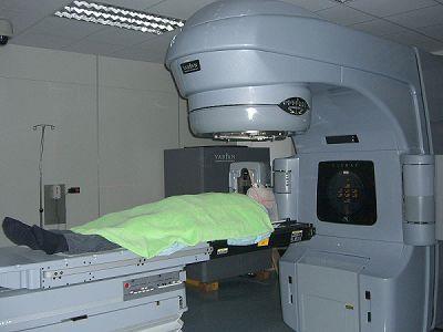 直線加速器治療室