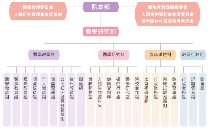 教研部組織圖